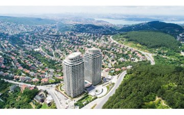 LUXURY 3+1 HOUSE WITH ISTANBUL VIEW 220 M2 BEST PROJECT FOREST NEAR